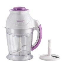 Измельчитель Galaxy GL 2353 (Мощность 350 Вт, объем чаши 1 л, нож из нерж.стали, пластиковая насадка для взбивания крема)