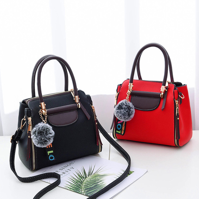 2b90f28f03be3 Bag female 2018 new wave Korean fashion personality explosion models ladies  hand bag atmosphere wild shoulder messenger bag.