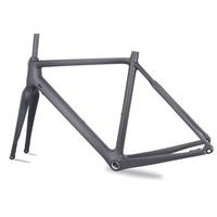 Carbon Cyclocross Bikes Frame 2018 BSA/BB30/PF30 Bicycles Frameset With Di2 / Machanical Disc Brake