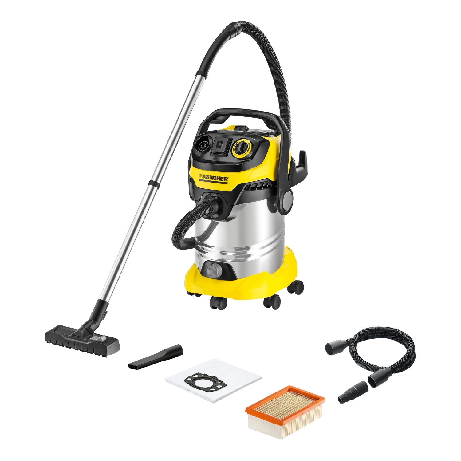 Vacuum cleaner for dry and wet cleaning KARCHER WD 6 P Premium