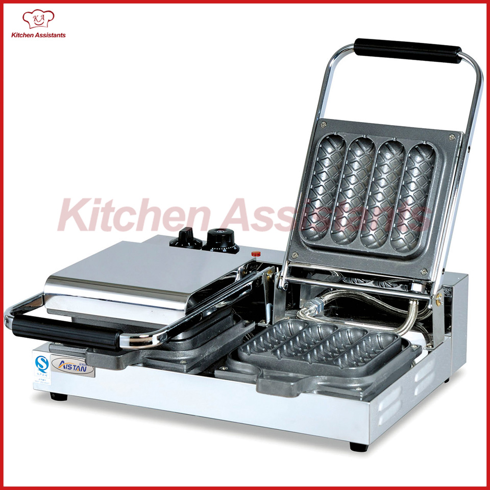 EG7A-2 electric crisp machine waffle baker maker machine with mold mould electric 6holes  slot crisp balls