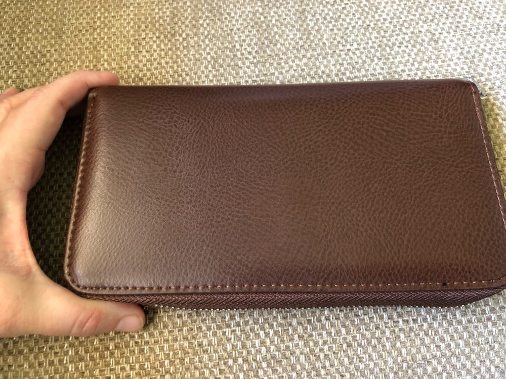 Miyahouse Large Capacity Card Holder Wallet Women Business RFID Cards Wallet Unisex Credit Holder Purse Female photo review