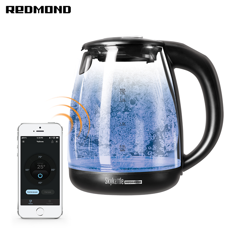 лучшая цена Electric Kettle Redmond SkyKettle RK-G210S Smart kettle