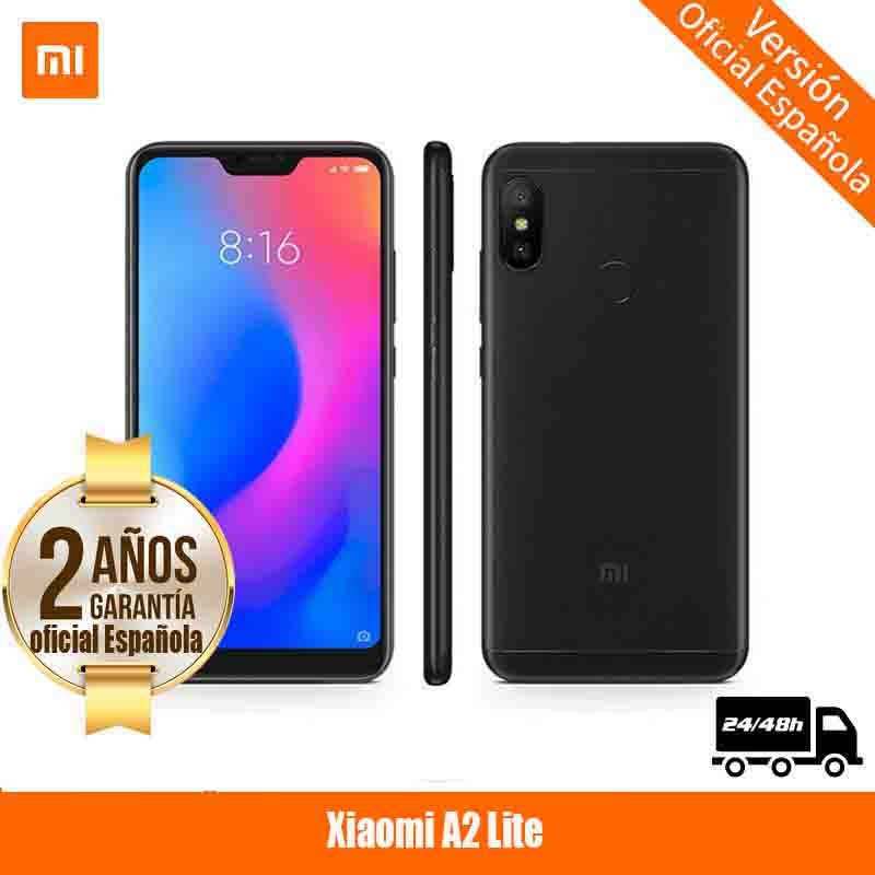 [Spanish Version Official Warranty] Xiaomi Mi A2 Lite 5.84