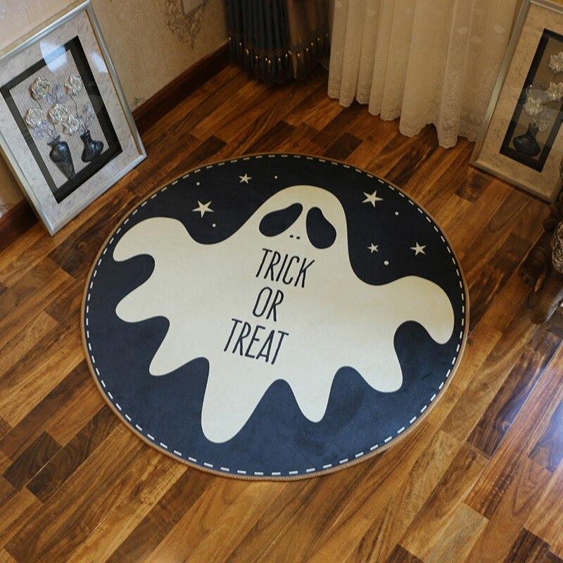 Baby Cartoon Round Carpets Diameter 60CM Soft Living Room Cute Animal Carpet Children Kids Bedroom Rug Home Chair Floor Mats