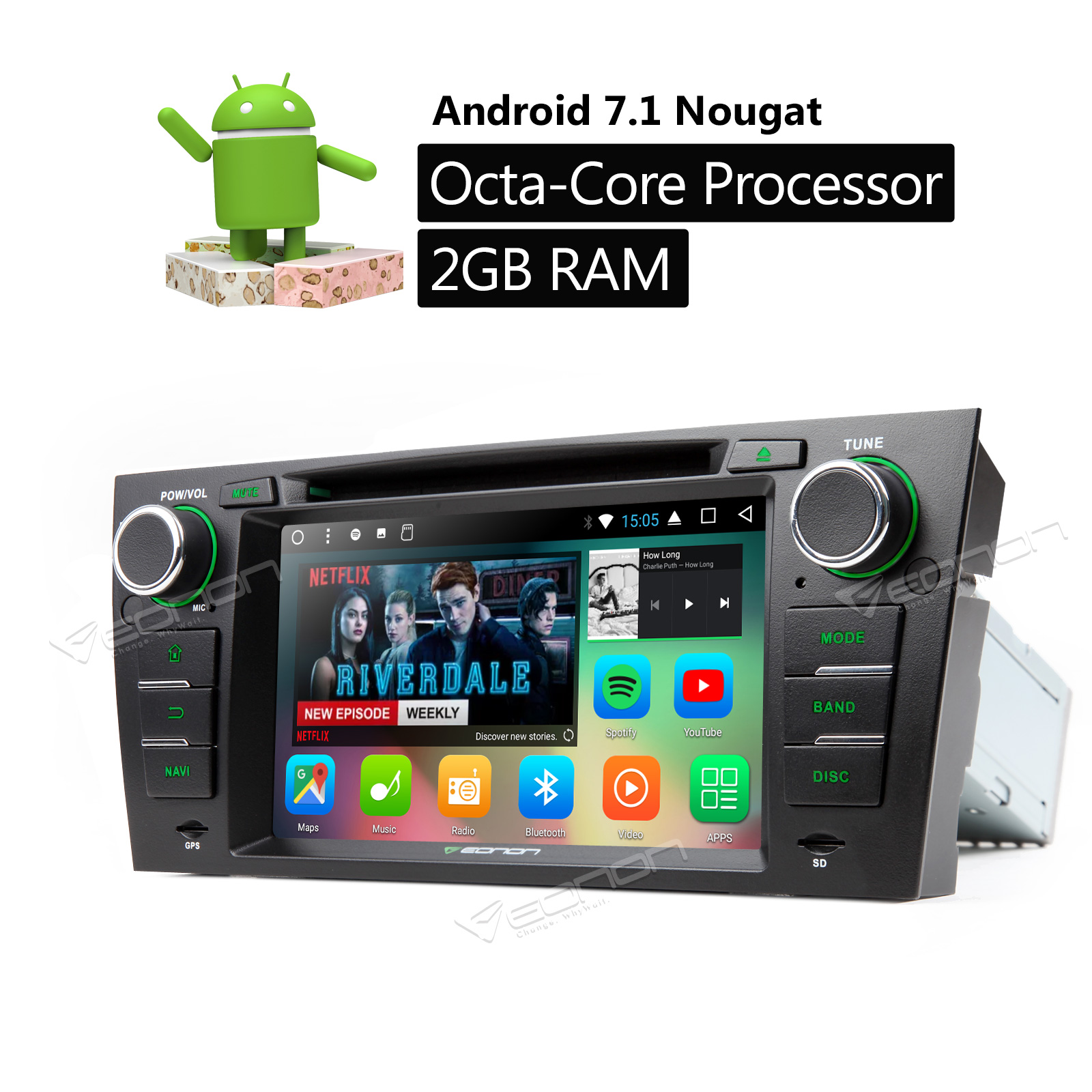 Eonon GA8165A Android 7 1 8Core In Dash Car DVD Player