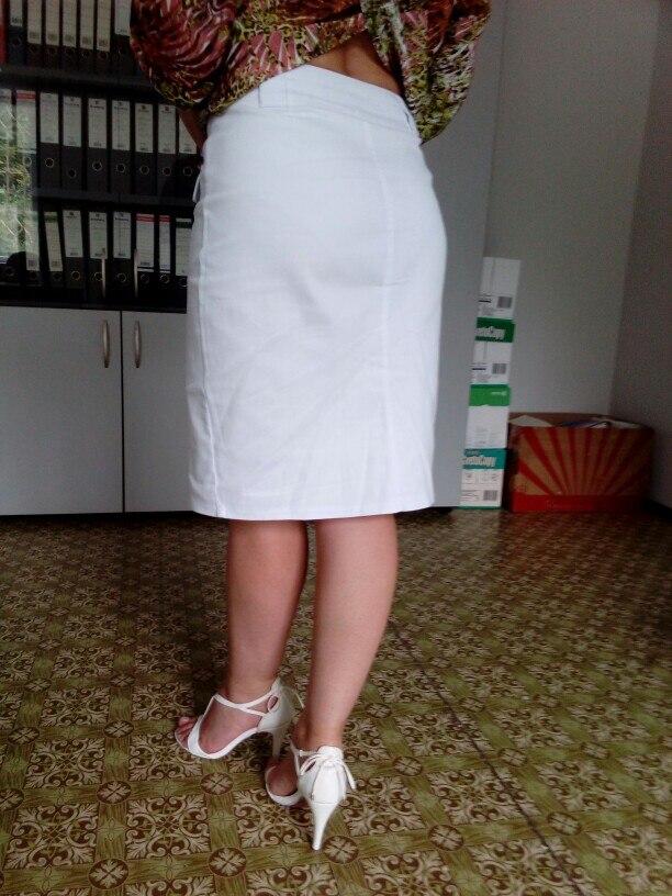 Fashion Summer Women Denim Pencil Split Skirt High Waist Sexy Work Wear Ladies Skirts photo review