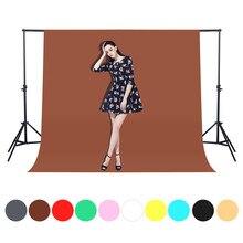 Backdrops de fotografia de 1.6x 1/2/3m, backdrops para estúdio de fotos, backdrops verdes, tiro de vídeo sólido, não tecido tela de tela