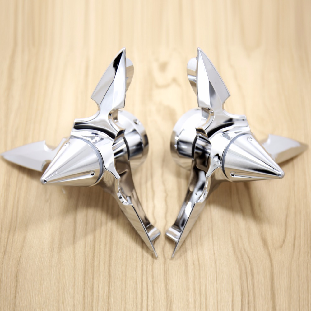 Chrome Spun Blade Spinning Axle Caps Chrome Fit Harley Motorcycle Sportster 2008-2018 Road Glides Electra Glides spun blade spinning axle caps chrome harley motorcycle sportster 08 13 road glides electra glides