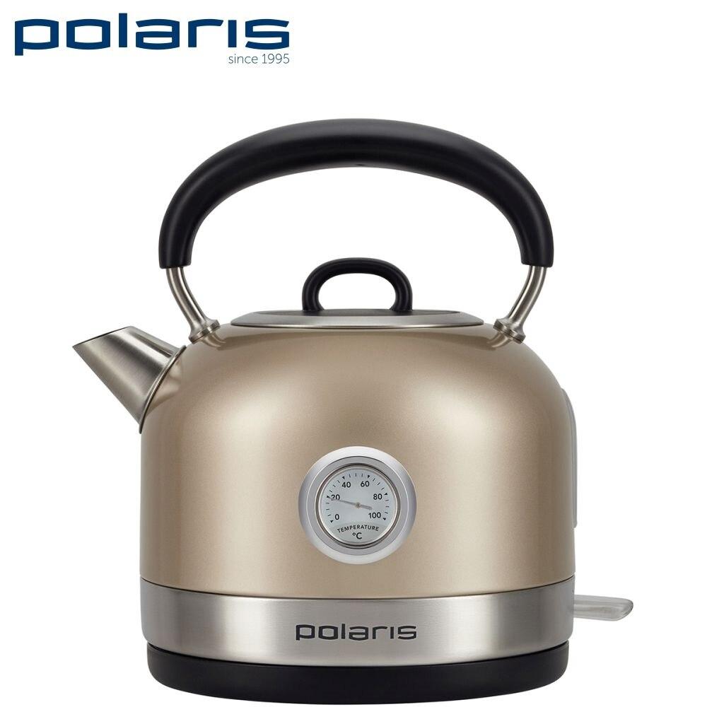 Kettle Electric Polaris PWK 1741CA Electric kettles home kitchen appliances kettle make tea Thermo electric kettle polaris pwk 1794c golf