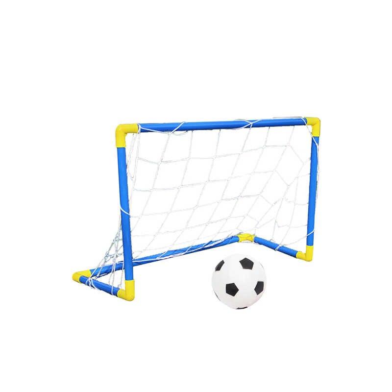 Gioventù Calcio Gol Net Pompa Calcio Set Outdoor Indoor Formazione Capretti Dei Bambini di Sport Regalo