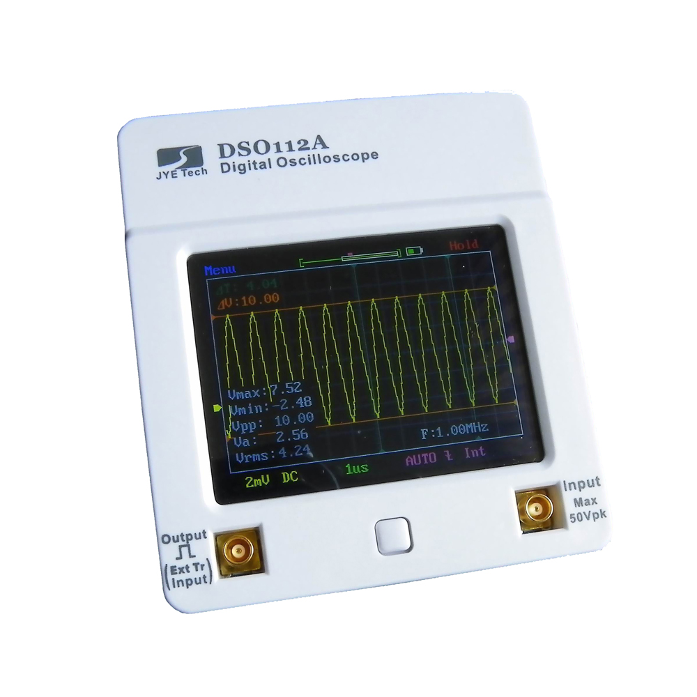 DSO112A Handheld Digital Storage Oscilloscope TFT Touch Screen 2MHz 5Msps