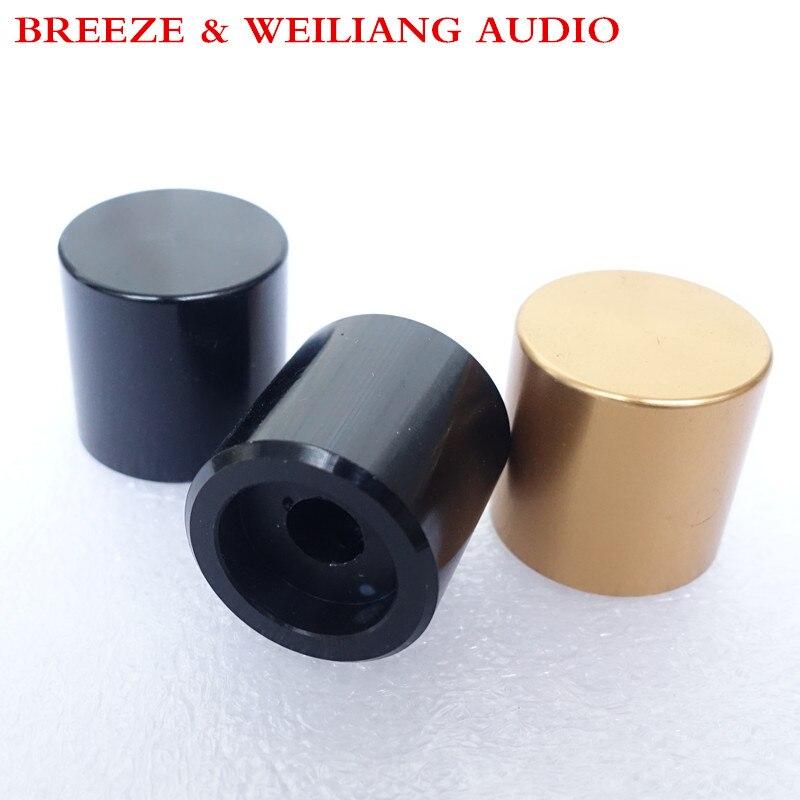 Breeze Audio & Weiliang Audio Diameter=20mm,high=20mm Aluminum Knob For Amplifier  Audio Potentiometer Volume