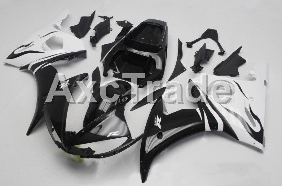 Motorcycle Fairings For Yamaha YZF600 YZF 600 R6 YZF-R6 2003 2004 2005 03 04 05 ABS Injection Molding Fairing Bodywork Kit B404 wotefusi black motorcycle injection mold bodywork motorcycle fairing for 2004 2005 2006 yamaha yzf1000 r1 04 05 06 3 [ck813]