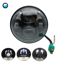 1 pcs 5.75 INCH motorcycle H4 led headlight For Harley '10 12 FLSTSE models DOT 5.75 Inch Led Headligh with DRL.