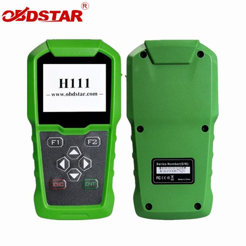 OBDSTAR H111 für Opel Schlüssel Programmierer & Cluster Kalibrierung über OBD