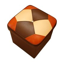 Moderno Sgabelli Mueble Pouffe Vintage Toilet Stool Plegable Krukje Pu Leather Poef Pouf Taburete Kids Furniture Storage Chair(China)