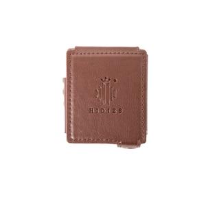 Image 3 - HIDIZS Funda de cuero y brazalete para AP80 (marrón)