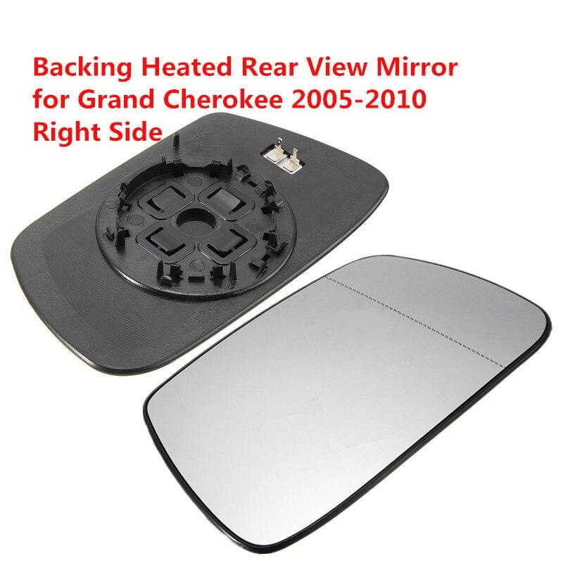Rechte Seite Außerhalb Erhitzt Rückspiegel Auto Außenspiegel Heizung Rückspiegel Glas für Jeep Grand Cherokee 2005-2010