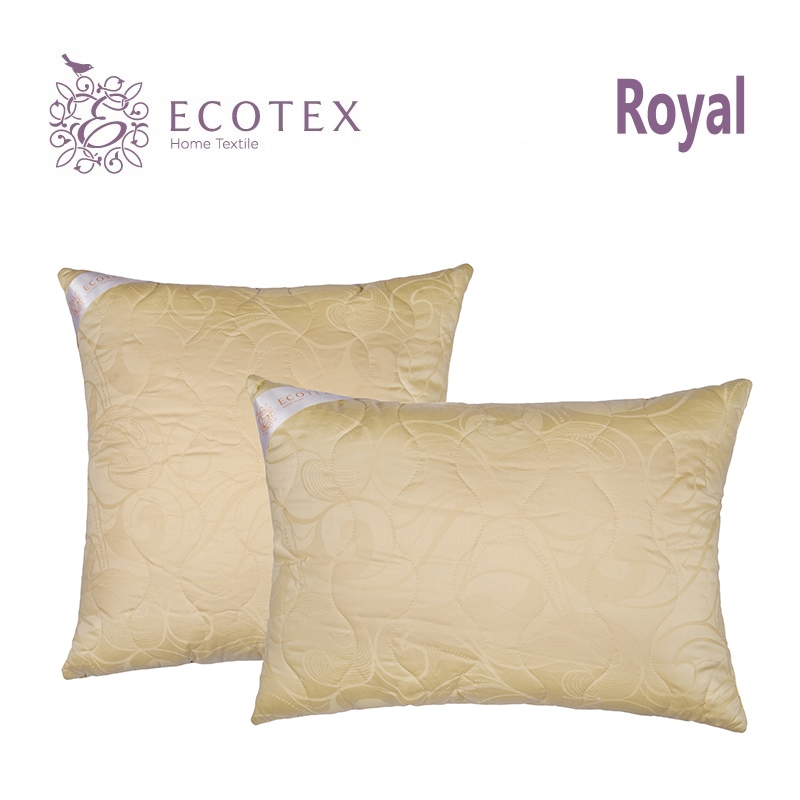 Pillow Merinos collection Royal. Production company Ecotex(Russia). pillow fiber collection comfort production company ecotex russia