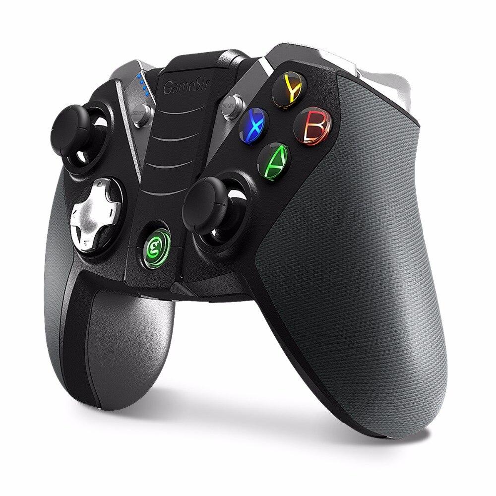 GameSir G4/G4s Bluetooth 4.0 2.4G Sem Fio/Com Fio Gamepad Controlador de Jogo nes snes Controlador Do Bluetooth PC (CN, NÓS, ES Post)