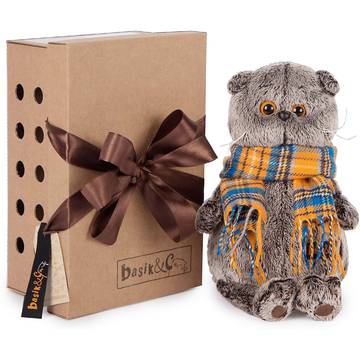 Stuffed & Plush Animals BUDI BASA 8076087 Stitch Bear Totoro Giraffe Fox Cat Dog Soft Children's toys - 6