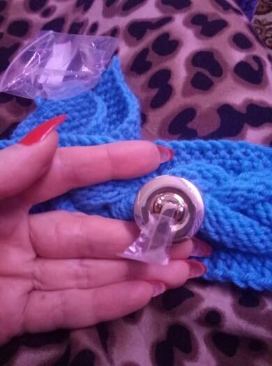 THINKTHENDO Metal Round Shape Clasp Turn Metal Lock Twist Lock for DIY Handbag Bag Purse Hardware photo review