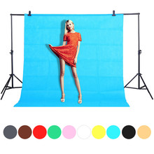 1.6X2/3M Photo Studio Green Screen Background Photography backdrops Chroma key Background Non Woven Photo Background Drop Ship