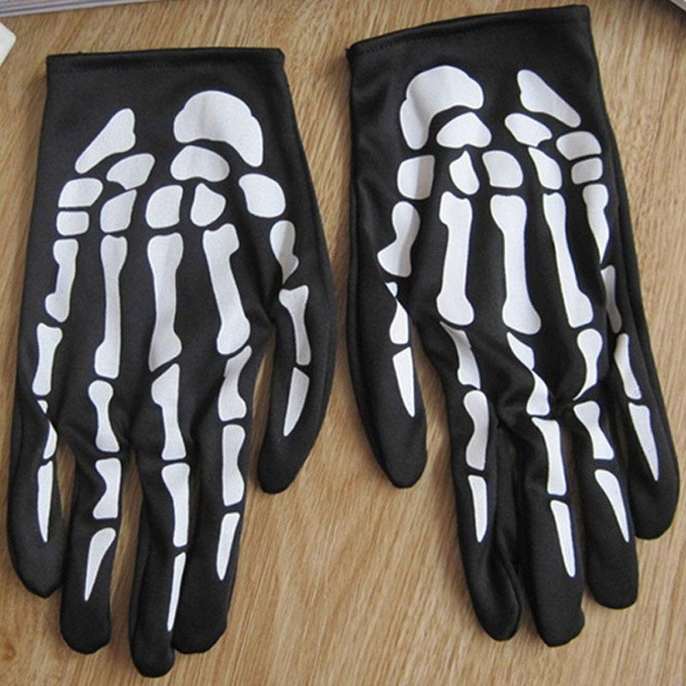Claw Glovesplastic Rubber Christmas Ghost  Gloves Men Women  Halloween Skull Skeleton Gloves