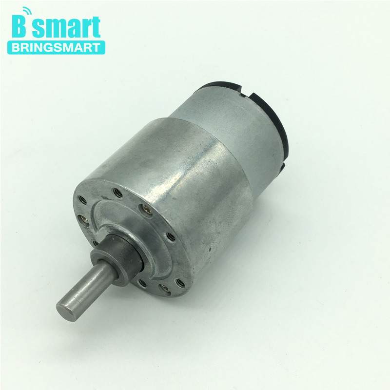 Wholesales JGB37-520 Reduction Motor With Gearbox Electric Motor 12v High Torque Motor 6v 24v Gear Motor цена