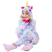 Women Pajamas Rainbow Star Tenma Adults Pajama Set Flannel Pyjama Suits Garment Cartoon Animal Pajamas Sleepwear