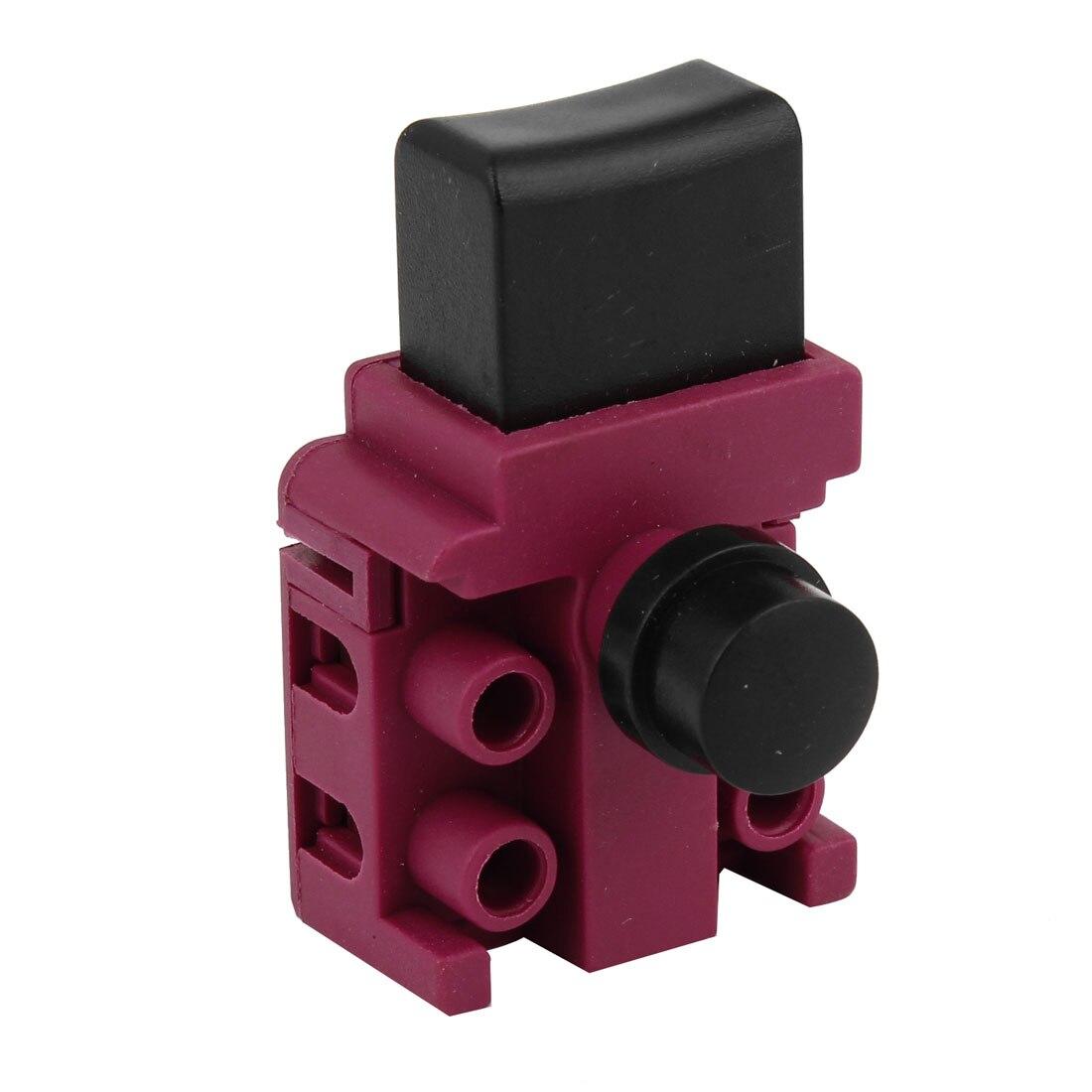 UXCELL AC 250 v 6A 5E4 DPST 2NO Interrupteur à Gâchette Contrôle Pour Makita 5016 Scie à Chaîne Électrique FA2-5/2B pour Power Electric Tool