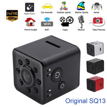 Original SQ13 Mini Kamera WiFi Cam Full HD 1080P Sport DV Recorder 155 Nachtsicht Kleine Action Kamera Camcorder DVR pk sq12 11(China)