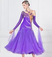 ballroom dress woman purple ballroom dresses dance customize ballroom dress competition lycra