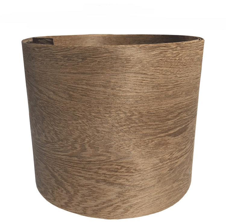 2x Natural Veneer Wood Veneer Sliced Veneer With Non-woven Tissue Wenge