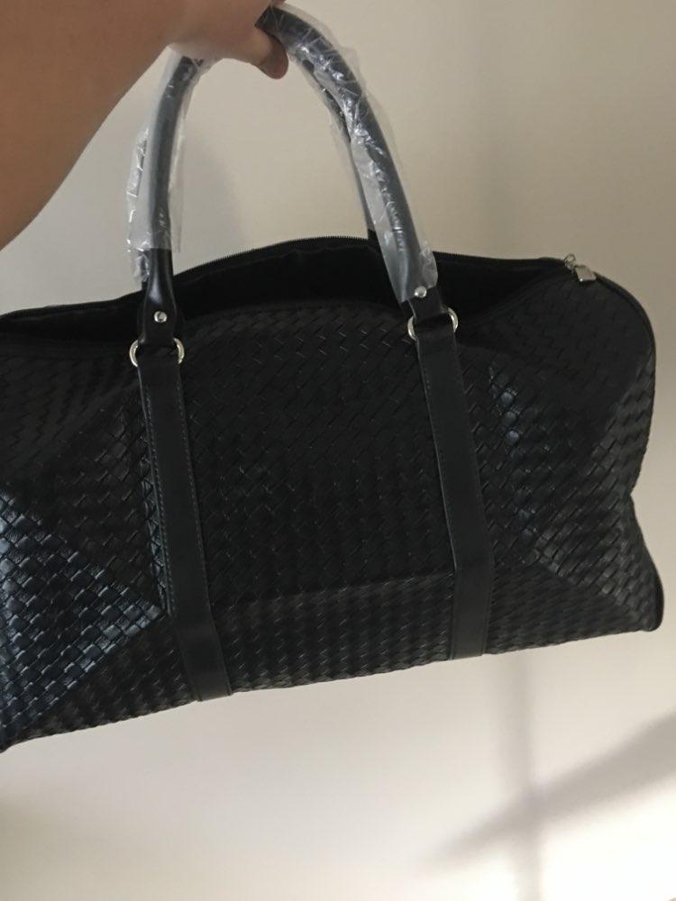 Waterproof Travel Bag Large Capacity Men Hand Luggage Travel Duffle Bags Leather Handbag Multifunction Shoulder Bag Bolsos Weeke photo review