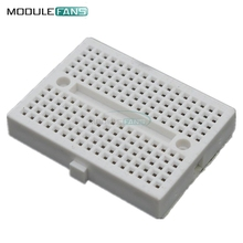 2PCS White Mini Solderless Breadboard SYB-170 Prototype Experiment Test Protoboard 170 Tie-Points For Arduino Shield