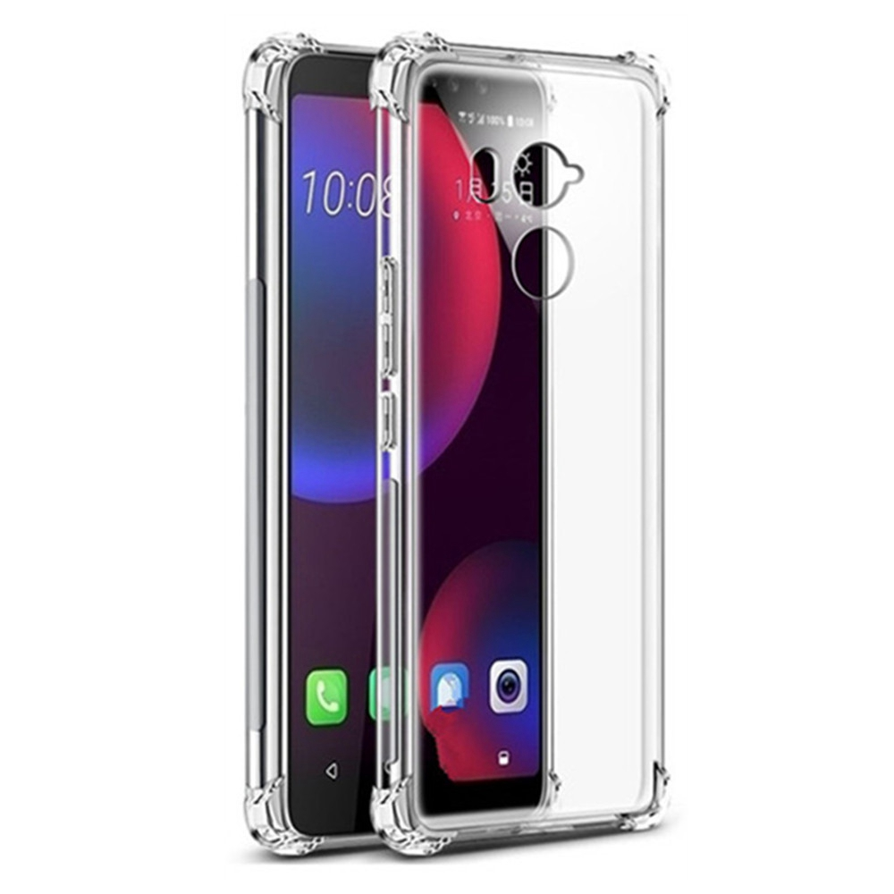 Air Cushion Shockproof Case For Htc U11 U12 Plus Life Eyes Google Pixel 1 2 XL Silicone Phone Cover For HTC U Play U Ultra Case