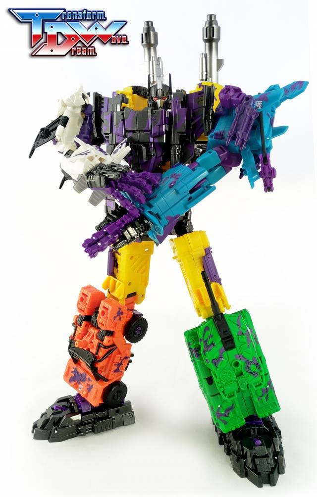 [Show.Z Store] Transform Dream Wave TDW TCW-01G G2 Bruticus Upgrade Kit Transformation Action Figure[Show.Z Store] Transform Dream Wave TDW TCW-01G G2 Bruticus Upgrade Kit Transformation Action Figure