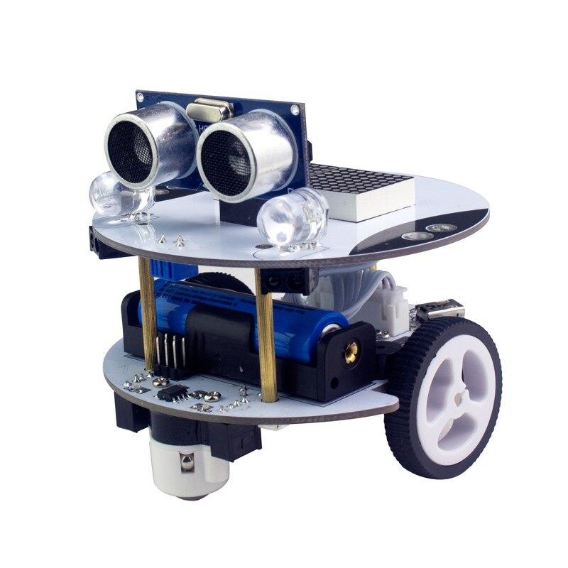 Xiao R DIY Qbot Scratch/Arduino 2 In 1 APP Control Programming Robot Car Set Inteligent RC Toys Models paul robot manipulators mathematics programming