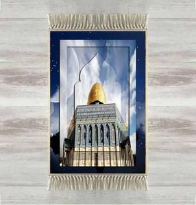 Image 1 - Else Blue Sky Golden Mosque 3d Turkish Islamic Muslim Prayer Rugs Tasseled Anti Slip Modern Prayer Mat Ramadan Eid Gifts
