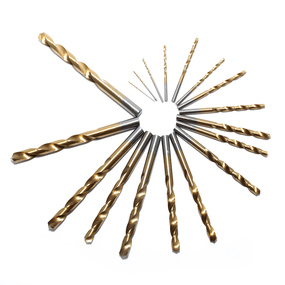 Nouvelle Arrivée 19 pcs 1.5-10mm M35 Cobalt HSS Twist Drill Bit - Foret - Photo 1