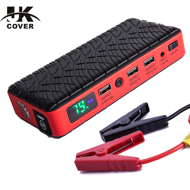 JKCOVER 26000mAh Best Car Jump Starter High Power Portable Car Charger Multi-function Start Jumper Emergency Car Battery Booster