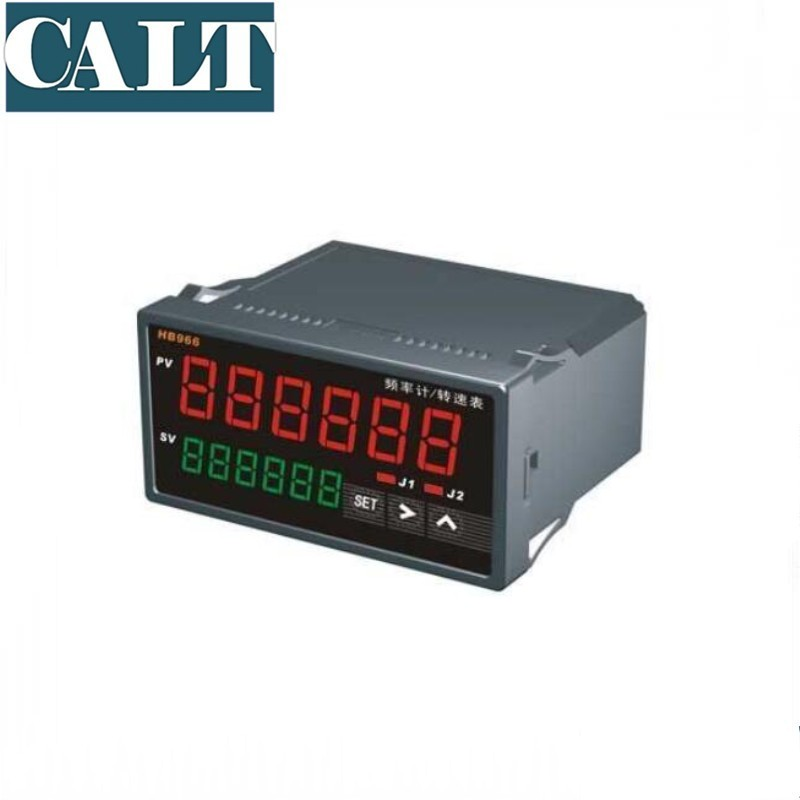 HB965 Double 6 compteur numérique Addition soustraction décompte de Phase Transmission Variable Communication longueur Instrument de mesure