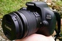 Новый однообъективной зеркальной камеры Canon EOS 1300D Rebel T6 DSLR Wi Fi Камера с фирменнй переходник для объектива Canon 18 55 мм объектив
