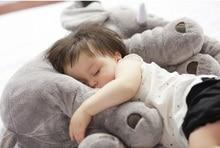 5 Färg 40cm Elephant plysch baby kudde för barn tjej vän gåva docka super mjuk underbar fylld anime leksaker