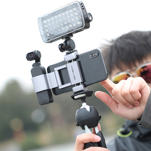 Image 5 - Pgytech dji osmoポケット2アクセサリー折りたたみ電話ホルダープラスブラケットセットpgytechの最新製品在庫
