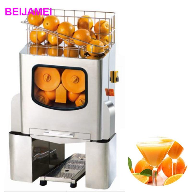 BEIJAMEI E-3 High quality commercial fresh orange juicer lemon juice squeezing making machine price цена