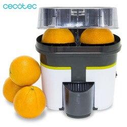 Cecotec Elektrische Orange Entsafter Zitrus Doppel Kopf Automatische Mehr Bequem und Schnell Alle in Einem Sehr Praktische Einfach