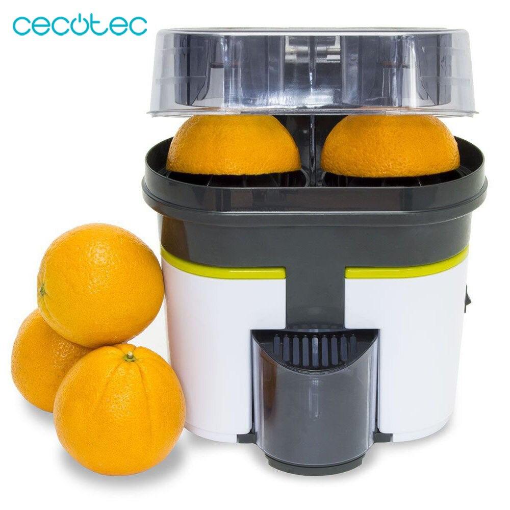 Cecotec presse-agrumes Orange électrique Zitrus Double tête automatique plus confortable et rapide tout en un très pratique facile